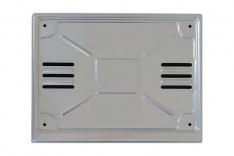 cornice per targa Posteriore alluminio per targhe tipo ZA europee con bande blu